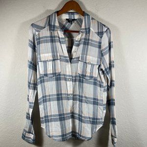 NWOT PAIGE Mya Button Down Top